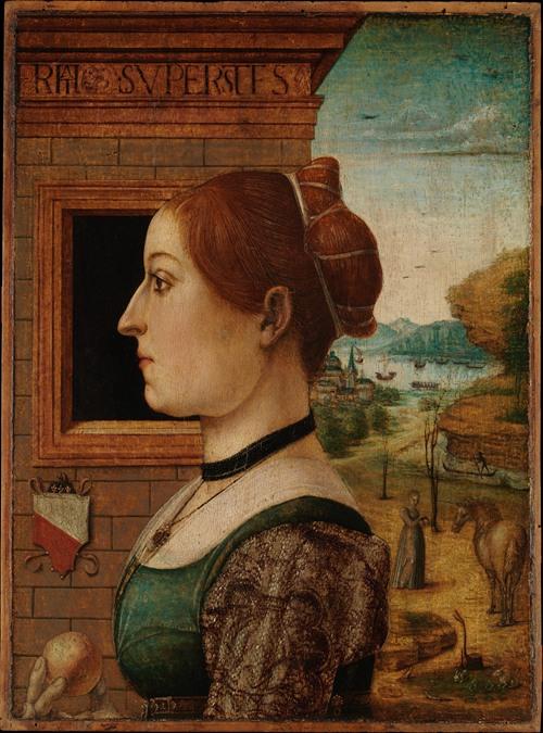 Portrait of a Woman, possibly Ginevra d'Antonio Lupari Gozzadini (1494)