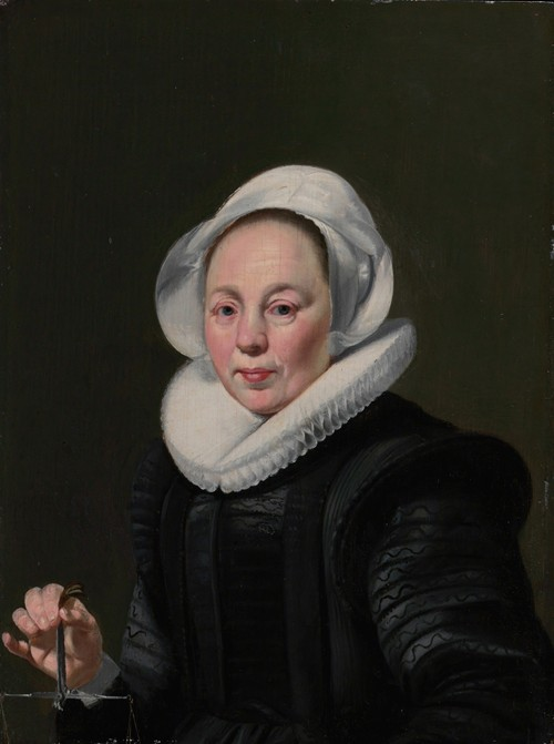 Portrait of a Woman with a Balance (ca. 1625-26)