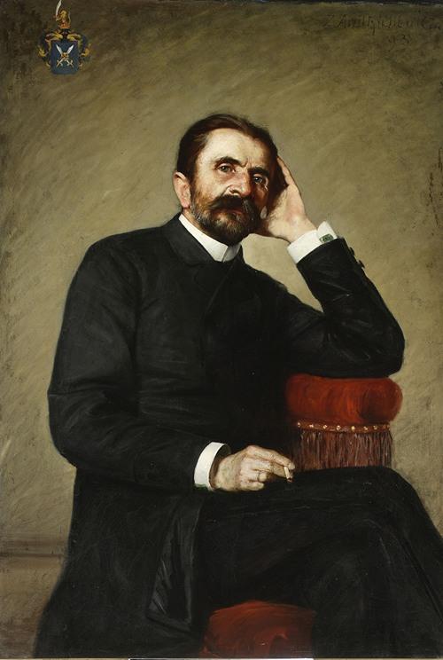 Portrait of Michał Andrychewicz, artist's father (1893)