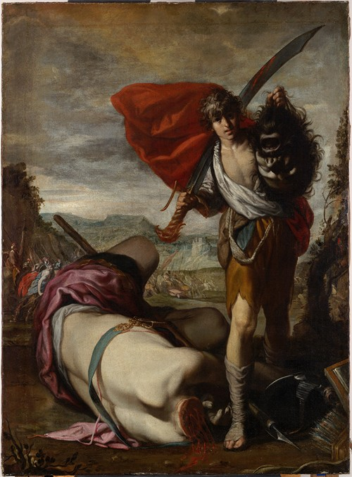 David with the Head of Goliath (mid-17th century)