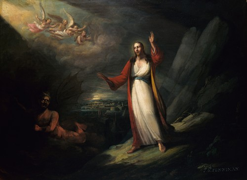 Christ Tempted by the Devil (1818)