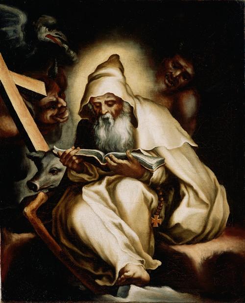 The Temptation of Saint Anthony (1570s)