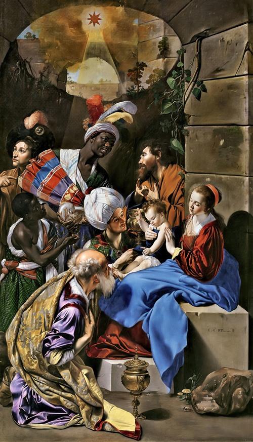 La Adoración De Los Reyes Magos (1612 - 1614)