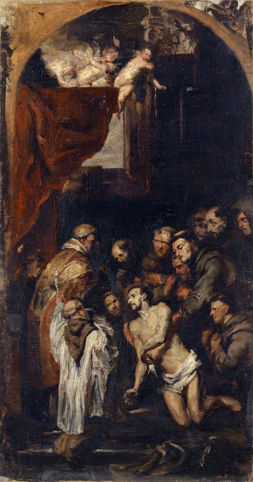 Last Communion of Saint Francis