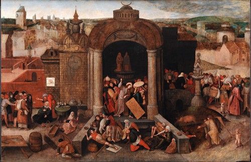 Christ Driving the Traders from the Temple (1570 - 1670)