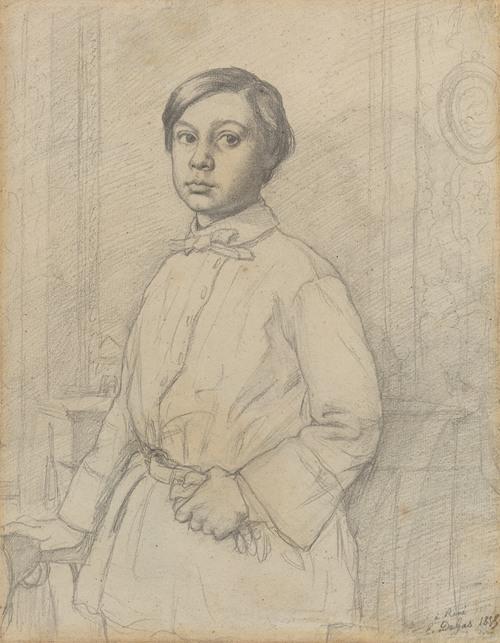 René de Gas (recto) (1855)