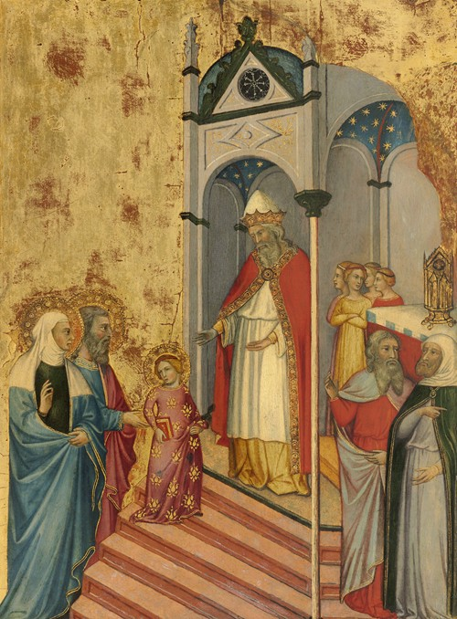 The Presentation of the Virgin in the Temple (c. 1400-1405)