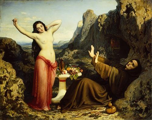 The Temptation of Saint Hilarion (1843-4)