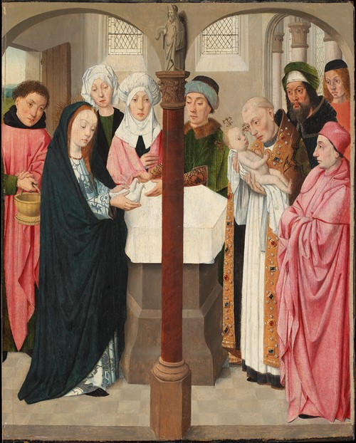 The Presentation In The Temple (c. 1490-1500)