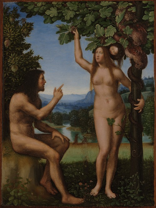 The Temptation of Adam and Eve (ca. 1509-13)