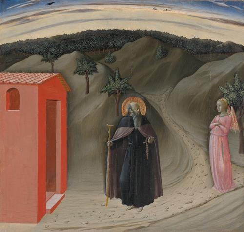 The Temptation of Saint Anthony Abbot (ca. 1435-40)