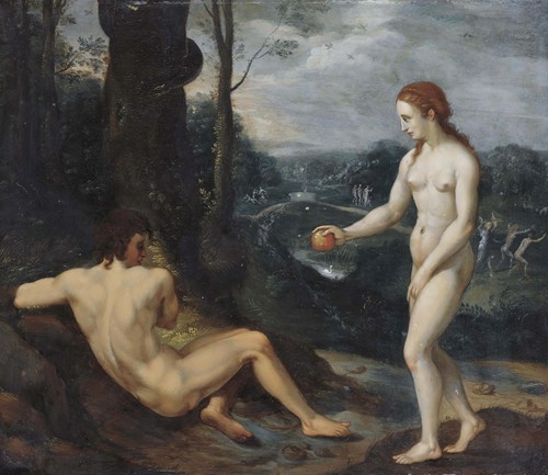 The Temptation Of Adam And Eve (1639)