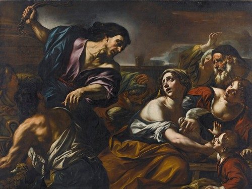 The Expulsion From The Temple
