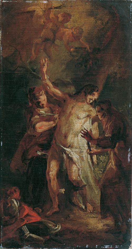 Der heilige Sebastian und die Frauen (1778)