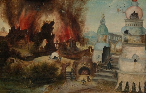 The Temptation of Saint Anthony (ca. 1550-60)