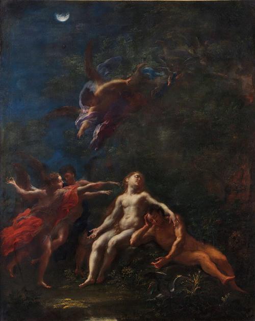 Sleep of Adam and Eve (ca. 1703-08)