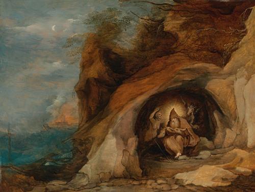 Landscape With Temptation Of St. Anthony