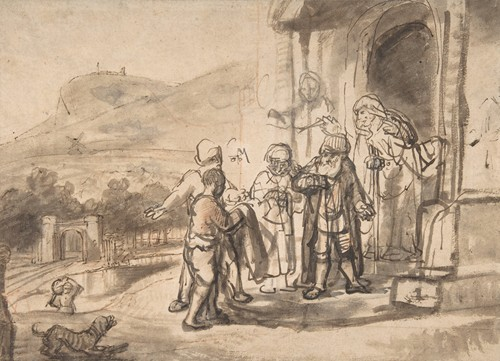 Jacob Receiving Joseph's Blood-Stained Cloak (ca. 1653)