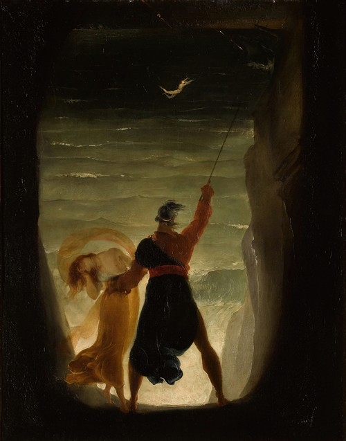Prospero And Ariel, From Shakespeare's the Tempest