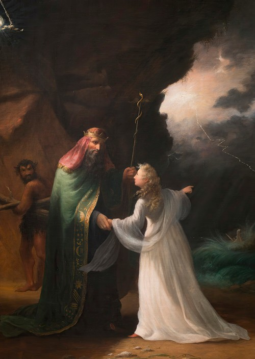 Scene from the Tempest (ca. 1850)