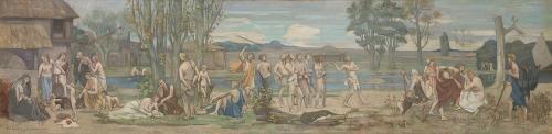 Ludus pro patria (Patriotic Games) (ca. 1883-89)