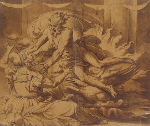 Jupiter Appearing to Semele (1501-47)