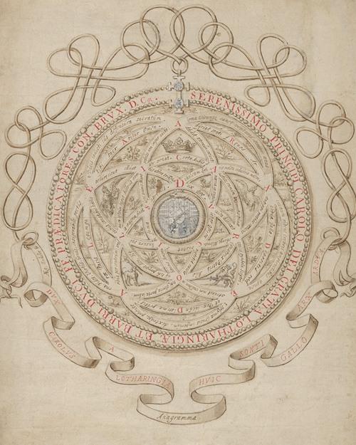 Anagram in Honor of Charles III, Duke of Lorraine and Bar (ca. 1595-1605)
