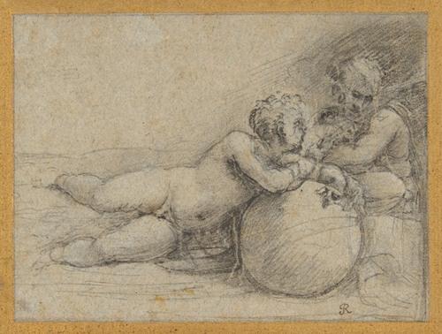 The Christ Child and Saint John the Baptist (1485-1547)