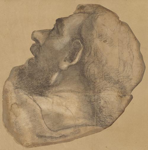 Cartoon for the Head of Saint James (1520)
