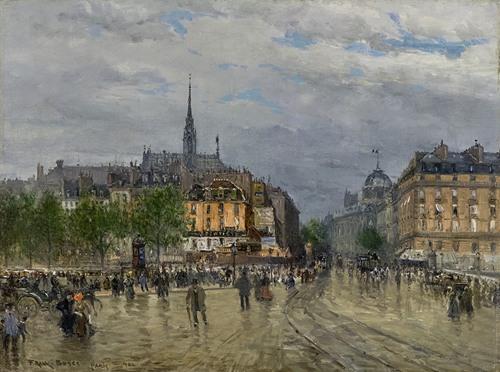 View of Paris (1900)