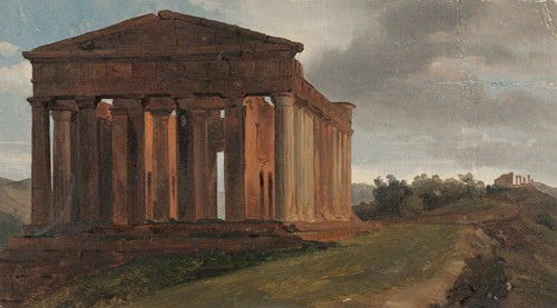 A Temple in Agrigento, Sicily
