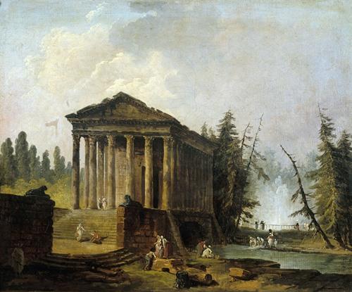 Le Temple Antique (1780-1790)