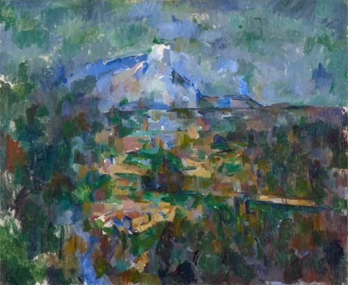 The Mont Sainte-Victoire Seen From Les Lauves (1904)