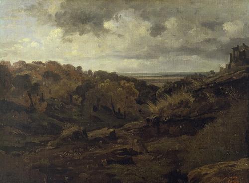 Italian Landscape near Marino in Autumn (1826)