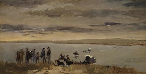 Passage at the Platte River (1866)