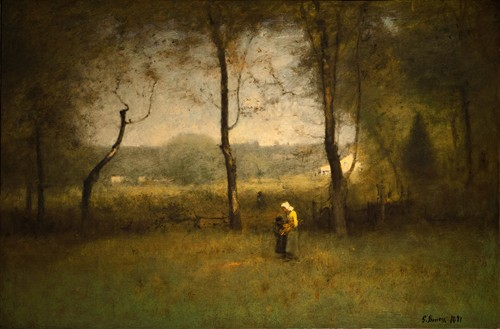 WOOD GATHERERS, AN AUTUMN AFTERNOON (1891)