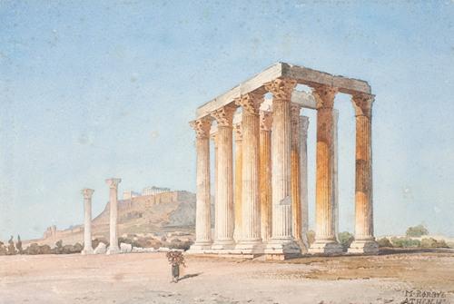 The Temple of Zeus (1835 - 1836)