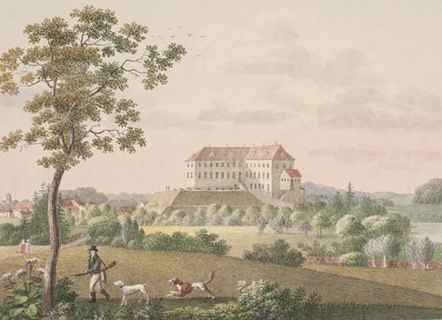 Tranekær Slot på Langeland (1819 - 1820)