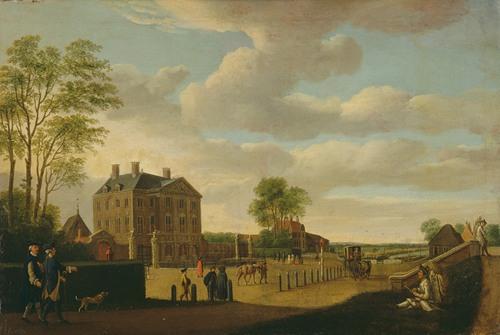 The Zwanenburg house in Halfweg (1700 - 1799)