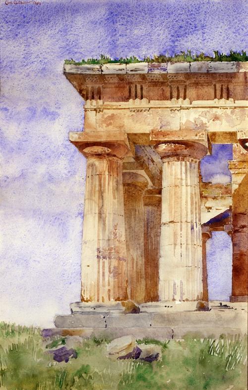 Temple of Neptune, Paestum (1898)