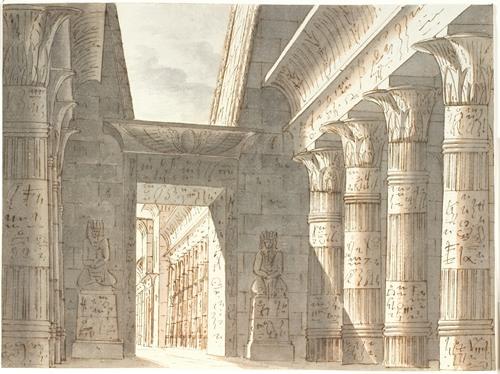 Ægyptisk Tempel (1778 - 1845)