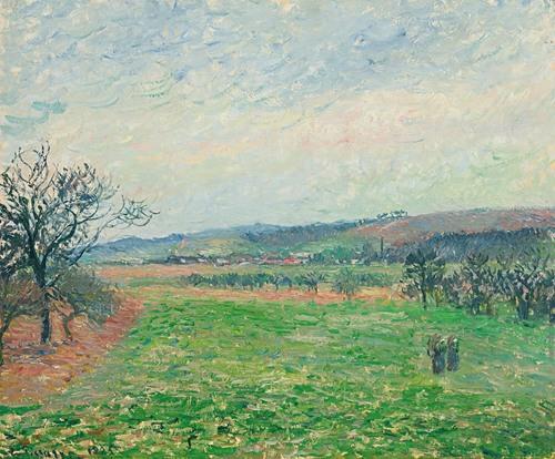 Les Coteaux De Gisors, Temps Gris (1885)