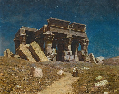 The Ruined Temple Of Kom Ombo, Egypt