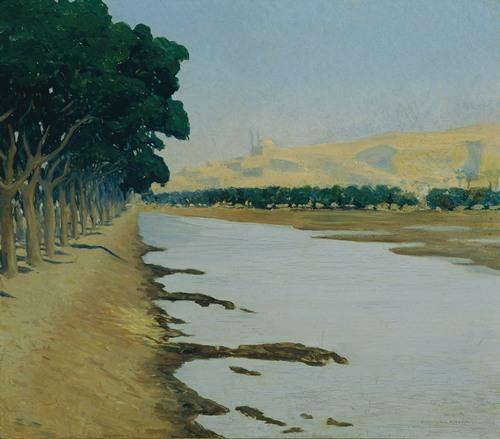 Blick auf die Zitadelle von Kairo (1900)
