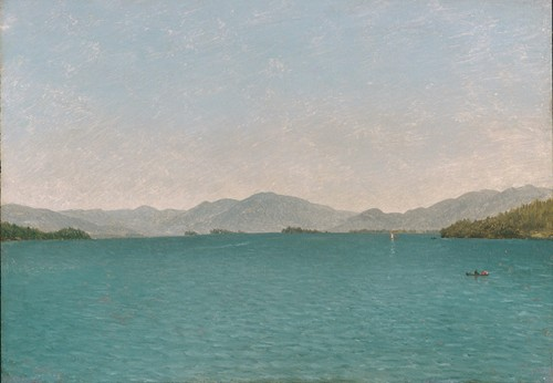Lake George, Free Study (1872)