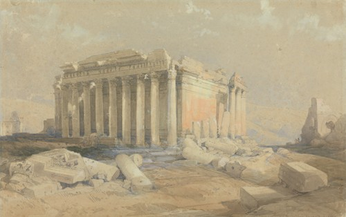 The Temple of Baalbec (1839)