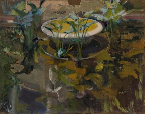 Jardin De La Casa Sorolla; Reflejo En 'Fuente De Las Confidencias' (Garden At The Artist'S House; Reflections In The Fountain Of Confidences)