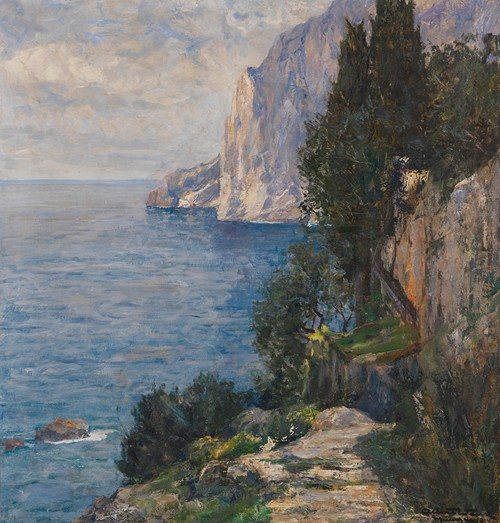 Felsenküste auf Capri (1914)