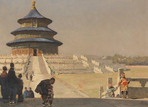 The Temple of Heaven in Beijing (ca.1928)