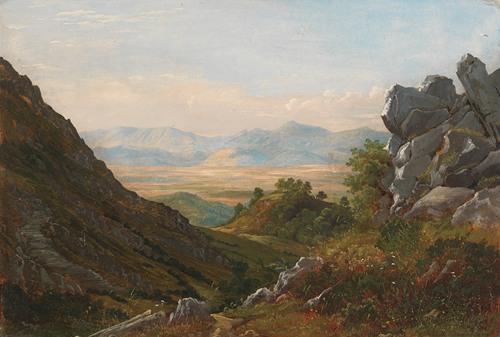 Zugeschrieben - Aus der Campagna bei Rom (Ca. 1840-50)